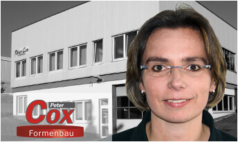 Claudia Protzel, Verwaltung Peter Cox Formenbau